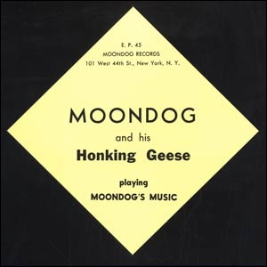 Moondog and his Honking Geese