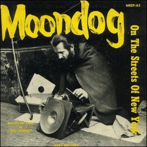 Moondog on the streets of New York