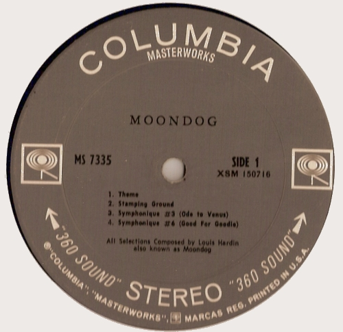 Moondog - Face A