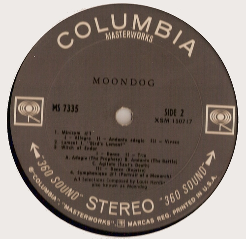 Moondog - Face B