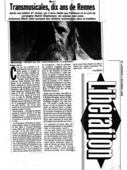 Libération 1988