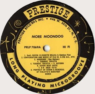 More Moondog - Face A